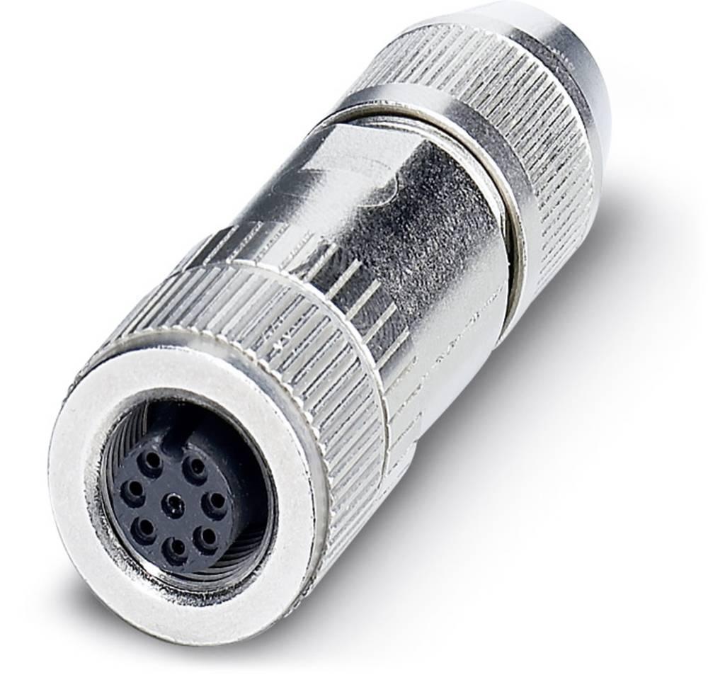 S-bus-vgradni vtični konektor, SACC-M12FS-8Q SH Phoenix Contact vsebuje: 1 kos