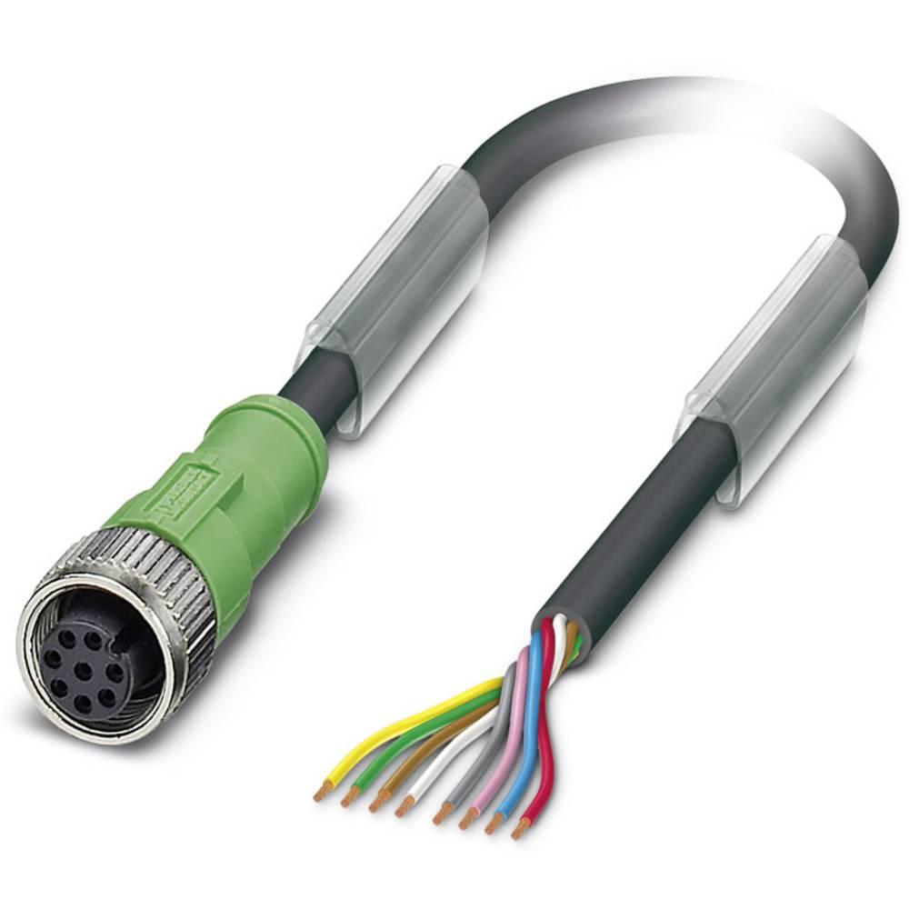 Senzorski/aktuatorski kabel SAC-8P-10,0-PUR/M12FS Phoenix Contact vsebuje: 1 kos