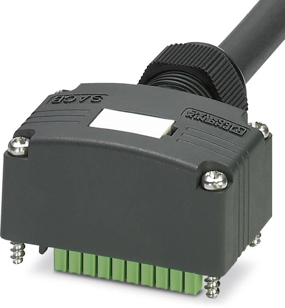 Sensor/aktorbox passiv Tilslutningshætte med ledning SACB-C-H180-4/ 4-10,0PUR SCO P 1453067 Phoenix Contact 1 stk