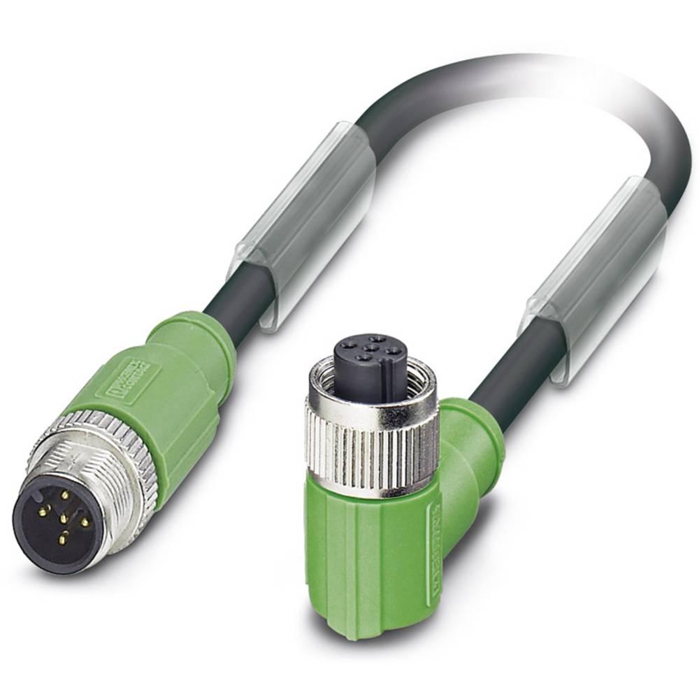 Senzorski/aktuatorski kabel SAC-5P-M12MS/ 1,5-PUR/M12FR SH Phoenix Contact vsebuje: 1 kos