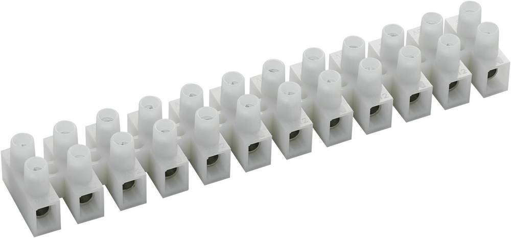 Kronemuffe ATT.CALC.CROSS_SECTION_FLEXIBLE: 2.5-6 mm² ATT.CALC.CROSS_SECTION_RIGID: 2.5-6 mm² Poltal: 12 589022 10 stk Hvid