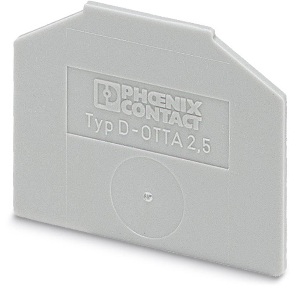 D-OTTA 6 - End cap D-OTTA 6 Phoenix Contact Indhold: 50 stk