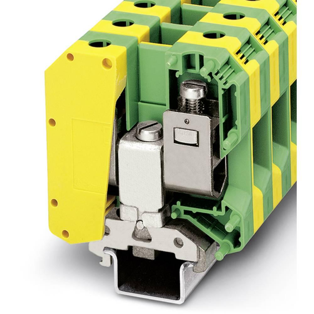 USLKG50-IB - beskyttelsesleder klemrække Phoenix Contact USLKG50-IB Grøn-gul 10 stk