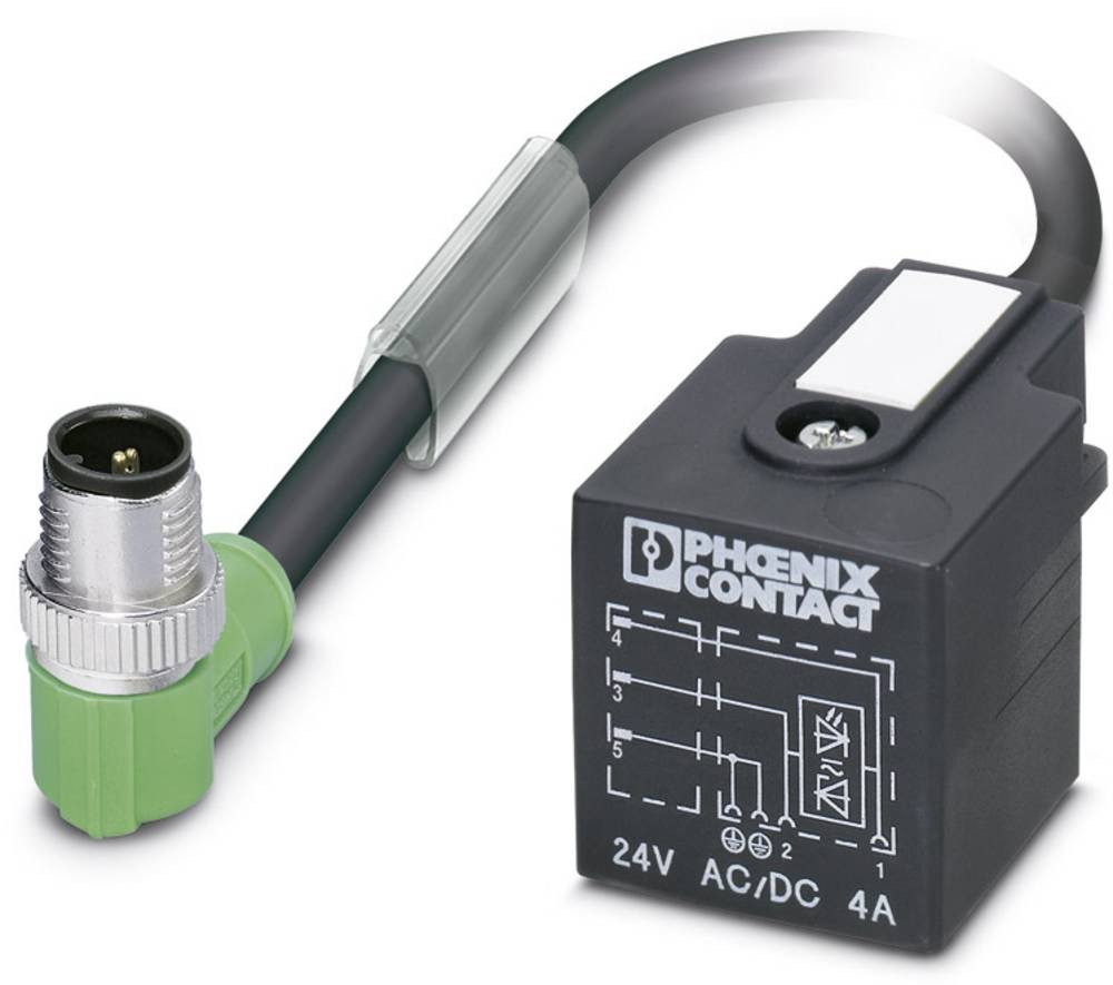 Sensor-, aktuator-stik, Phoenix Contact SAC-3P-MR/ 0,6-PUR/A-1L-Z SCO 1 stk