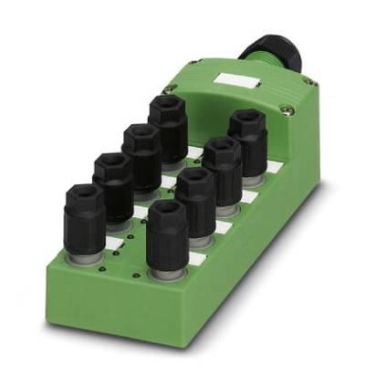 Sensor & actuator box (passive) QUICKON splitter SACB- 8/3-L-C QO-0,34 1548341 Phoenix Contact 1 pc(s)