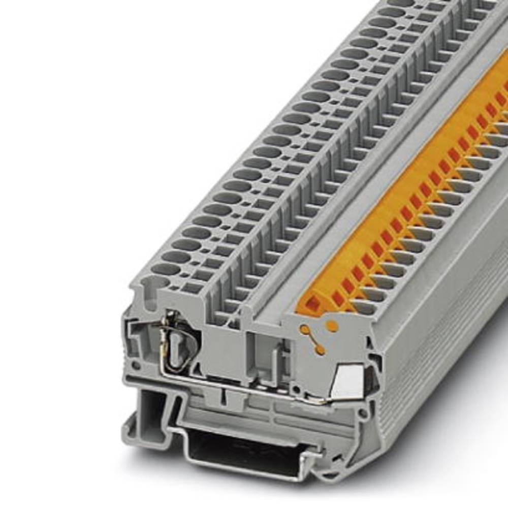 QTC 2.5 - gennem terminal Phoenix Contact QTCS 2,5 Grå 50 stk