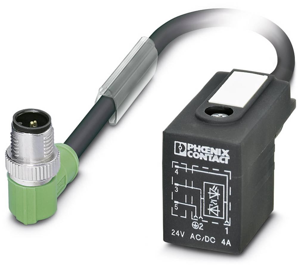 Sensor-, aktuator-stik, Phoenix Contact SAC-3P-MR/ 0,3-PUR/B-1L-Z SCO 1 stk