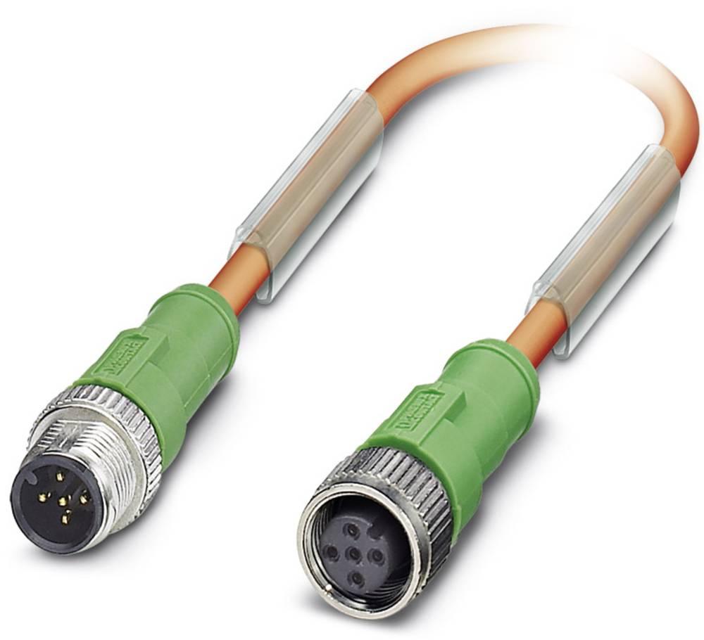 Senzorski/aktuatorski kabel SAC-5P-M12MS/ 1,5-PUR/M12FS VW Phoenix Contact vsebuje: 1 kos