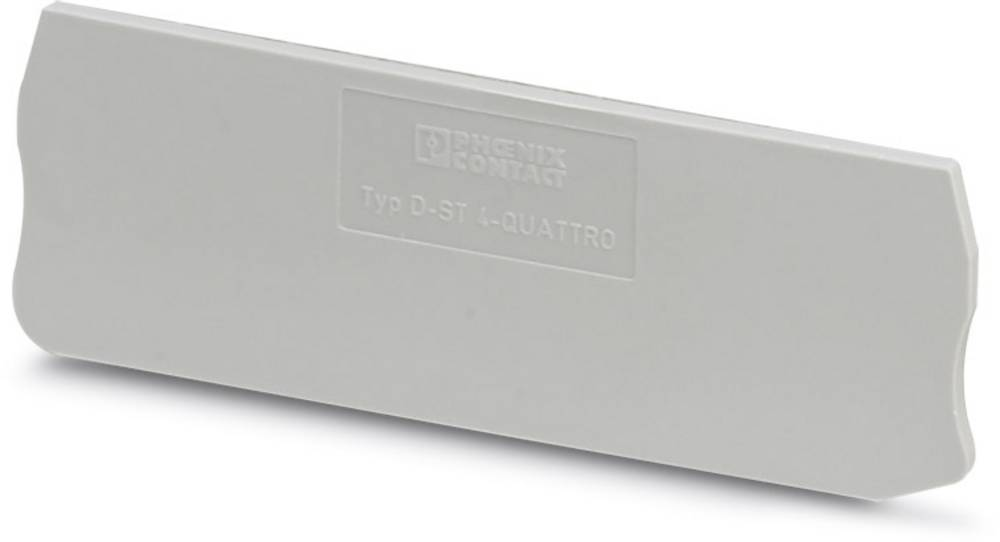 D-ST 4-QUATTRO - endedæksel D-ST 4-QUATTRO Phoenix Contact Indhold: 50 stk