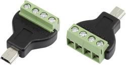 Mini USB-kontakt typ B Conrad Components MN-USB4M USB 2.0 1 st
