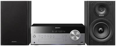 Image of Sony CMT-SBT100B Audio system AUX, Bluetooth, CD, DAB+, NFC, FM, USB, 2 x 25 W Black