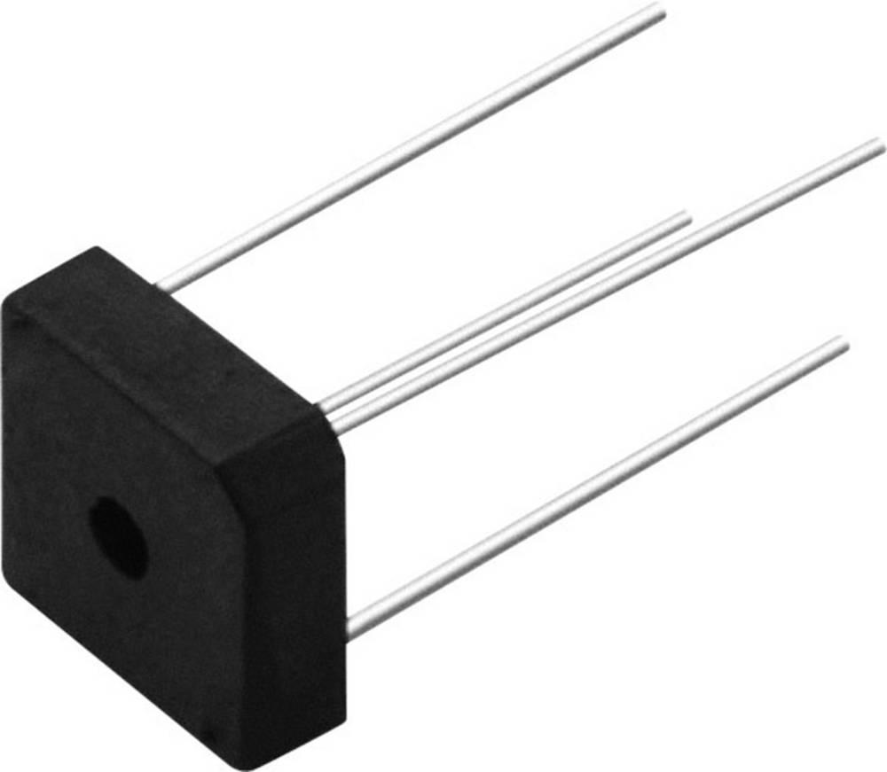 Usmerniška dioda, enofazna Vishay KBPC601 D-72 100 V 6 A