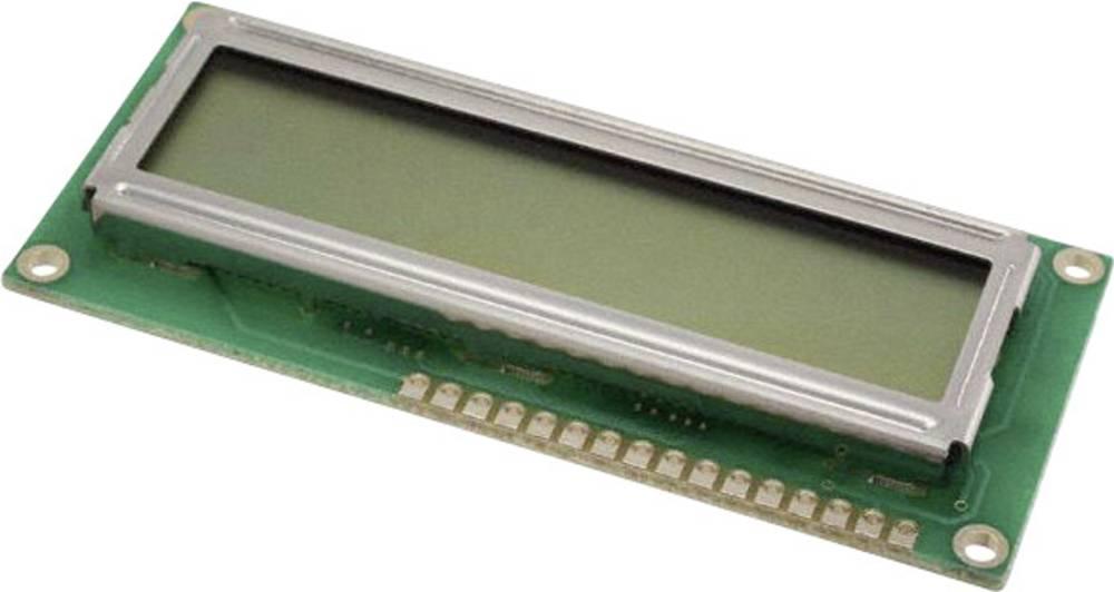 LCD zaslon, zelena (Š x V x G) 36 x 8.8 x 80 mm LUMEX LCM-S01602DSR/A