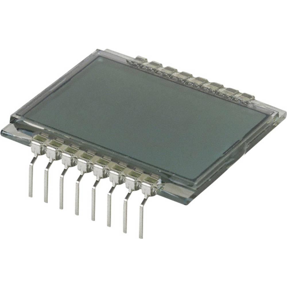 LCD zaslon, siva (Š x V x G) 28.67 x 9.15 x 30 mm LUMEX LCD-S2X1C50TR