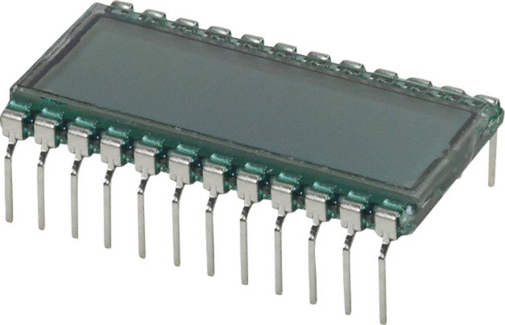LCD zaslon, siva (Š x V x D) 18.1 x 9.15 x 30.7 mm LUMEX LCD-S301C31TR