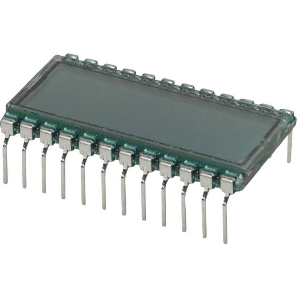LC-display LUMEX LCD-S301C31TR (B x H x T) 18.1 x 9.15 x 30.7 mm Grå