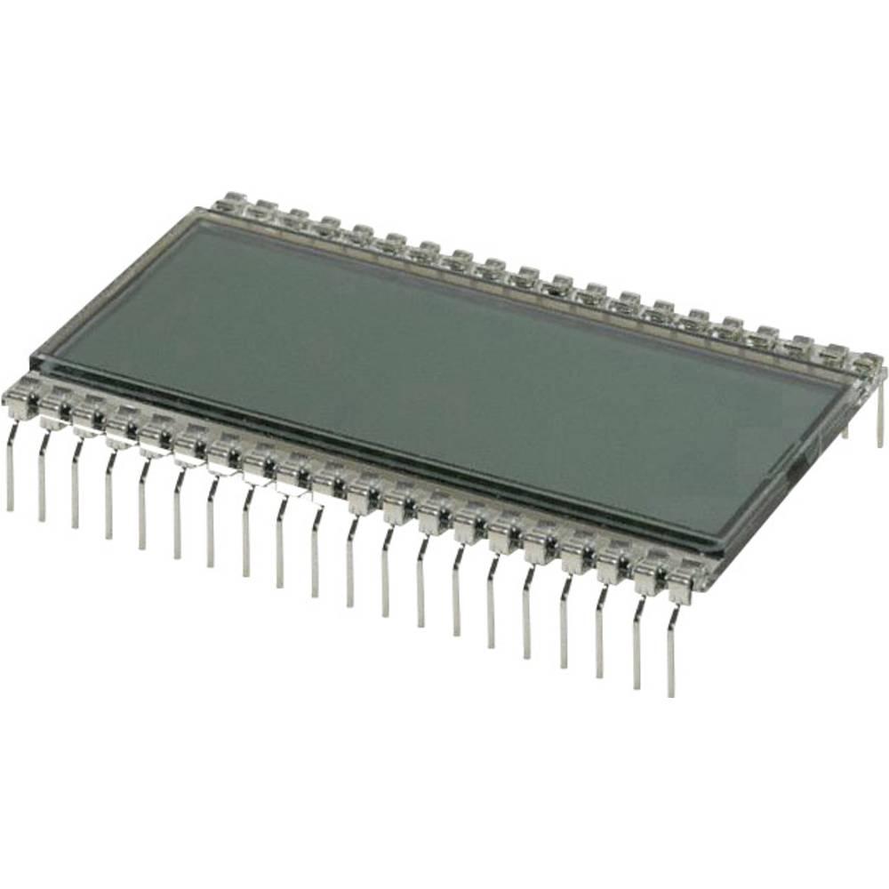 LCD zaslon, siva (Š x V x D) 30.48 x 9.14 x 50.8 mm LUMEX LCD-S3X1C50TR/B