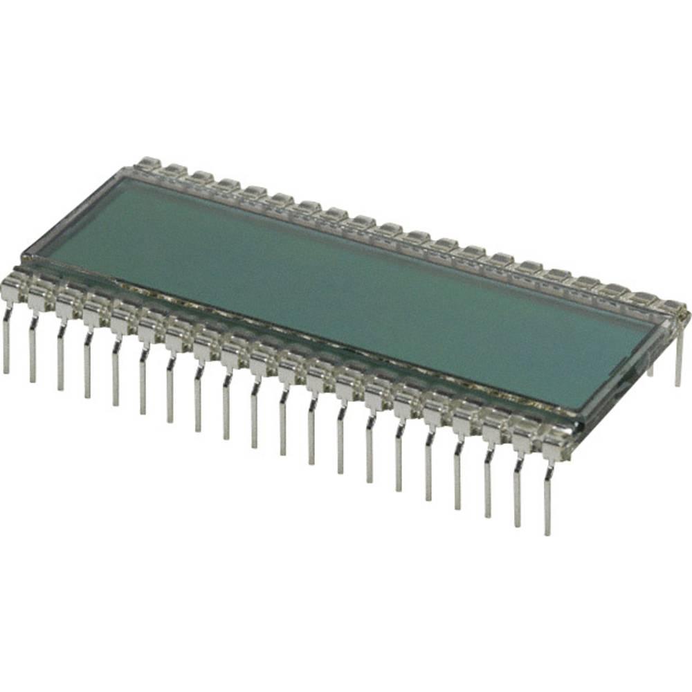 LCD zaslon, siva (Š x V x D) 24.64 x 8.85 x 50.8 mm LUMEX LCD-S401C39TR