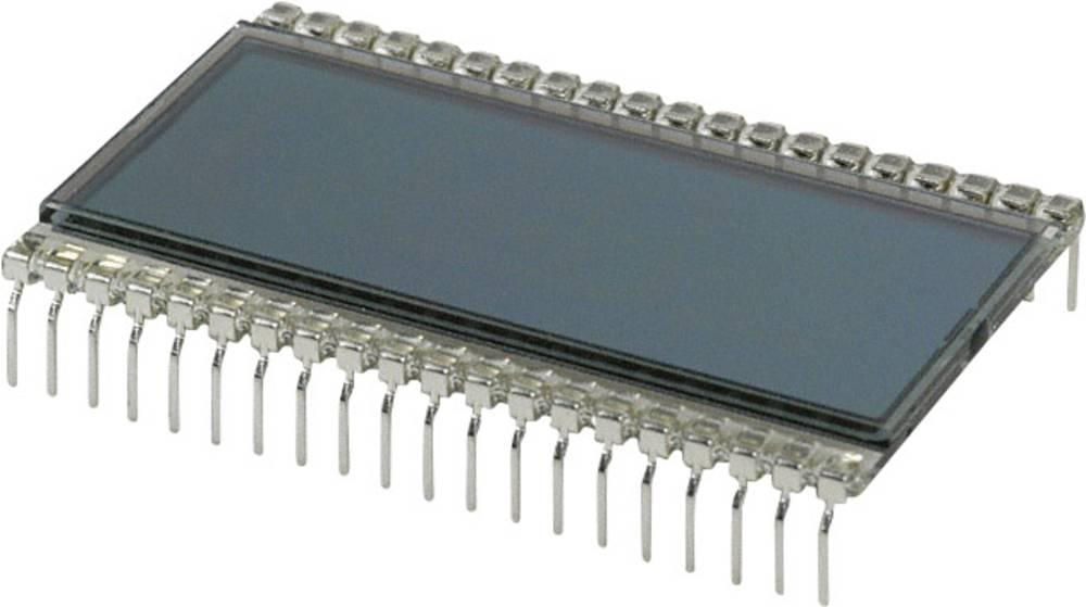 LCD zaslon, siva (Š x V x D) 30.48 x 8.85 x 50.8 mm LUMEX LCD-S401C52TR