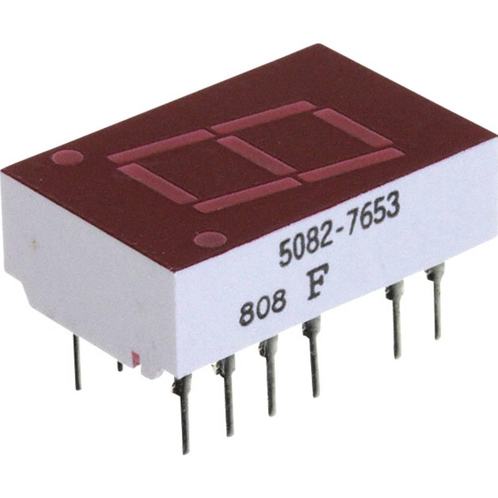 7-segmentsvisning Broadcom 11 mm 2.1 V Rød