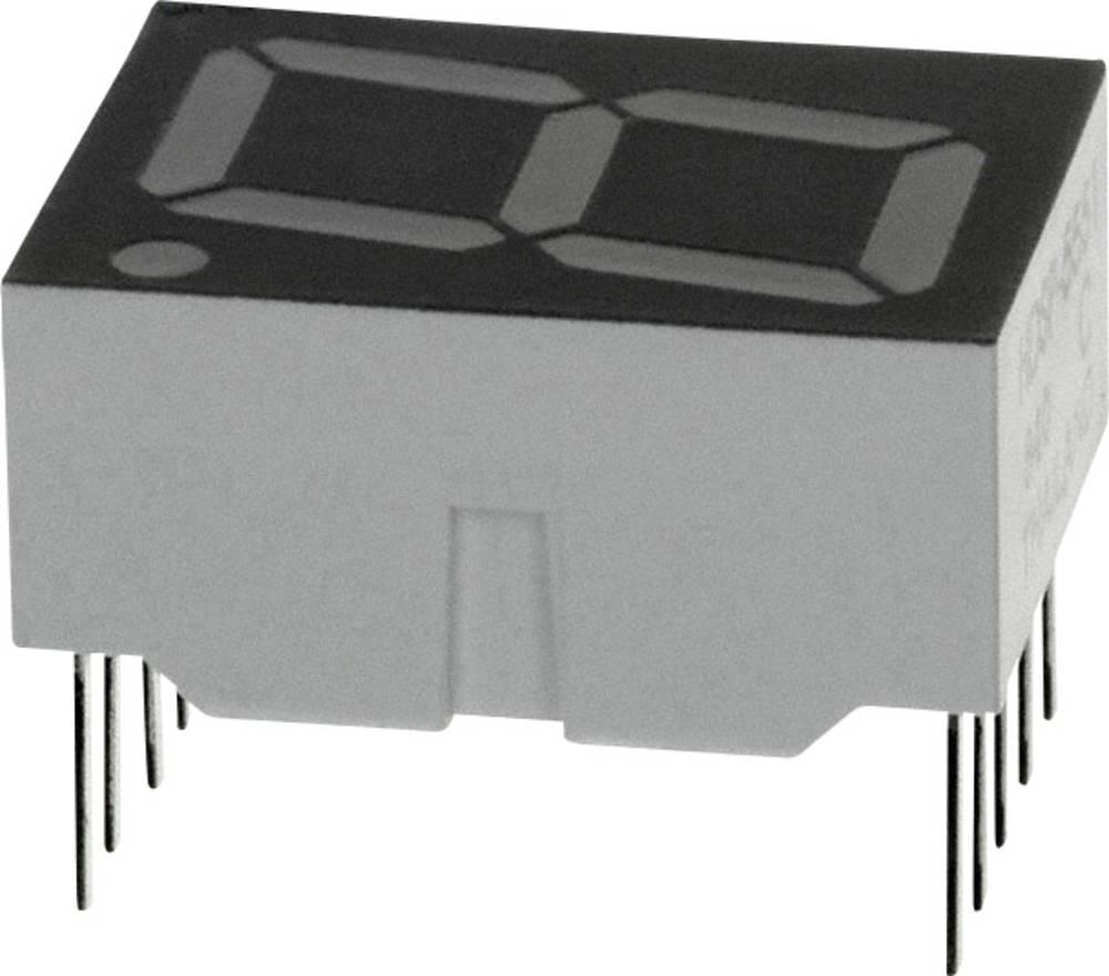 7-segmentsvisning Broadcom 14.22 mm 1.7 V Rød