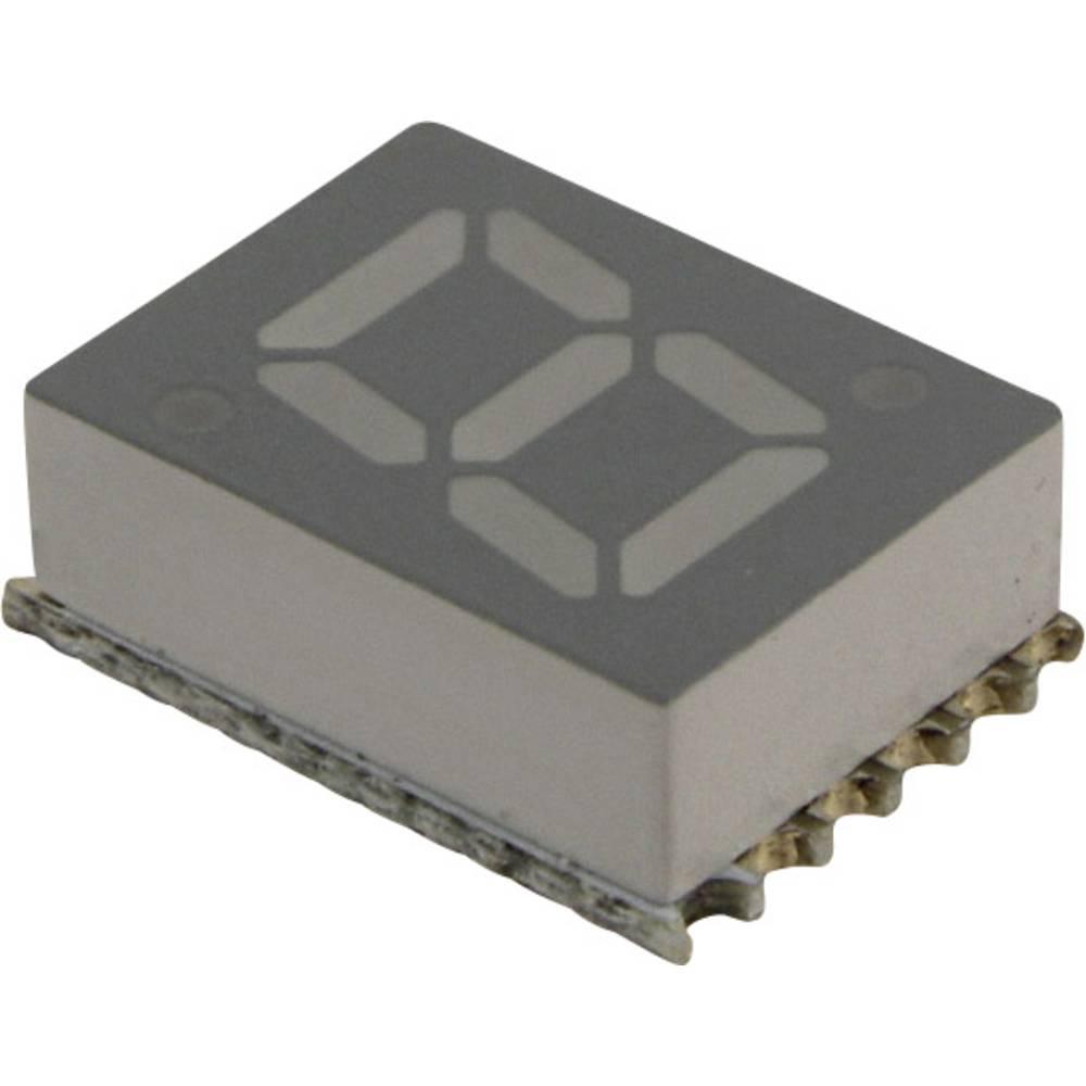 7-segmentsvisning Broadcom 7.11 mm 2 V Rød