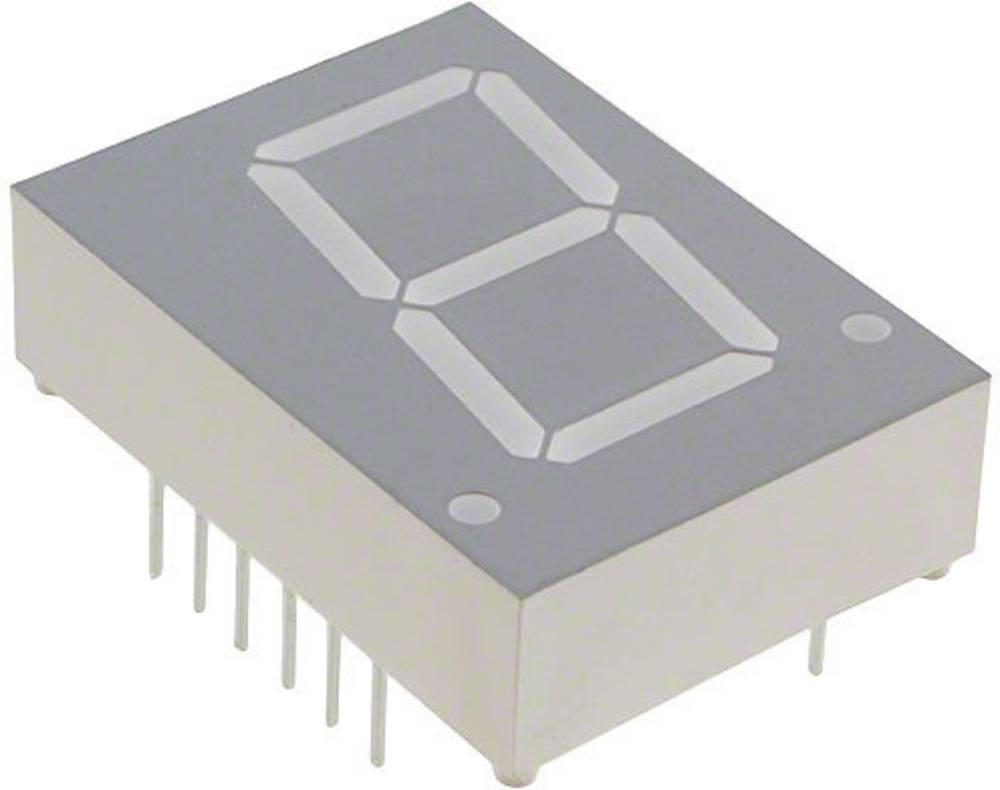 7-segmentsvisning Broadcom 20.32 mm 1.7 V Rød