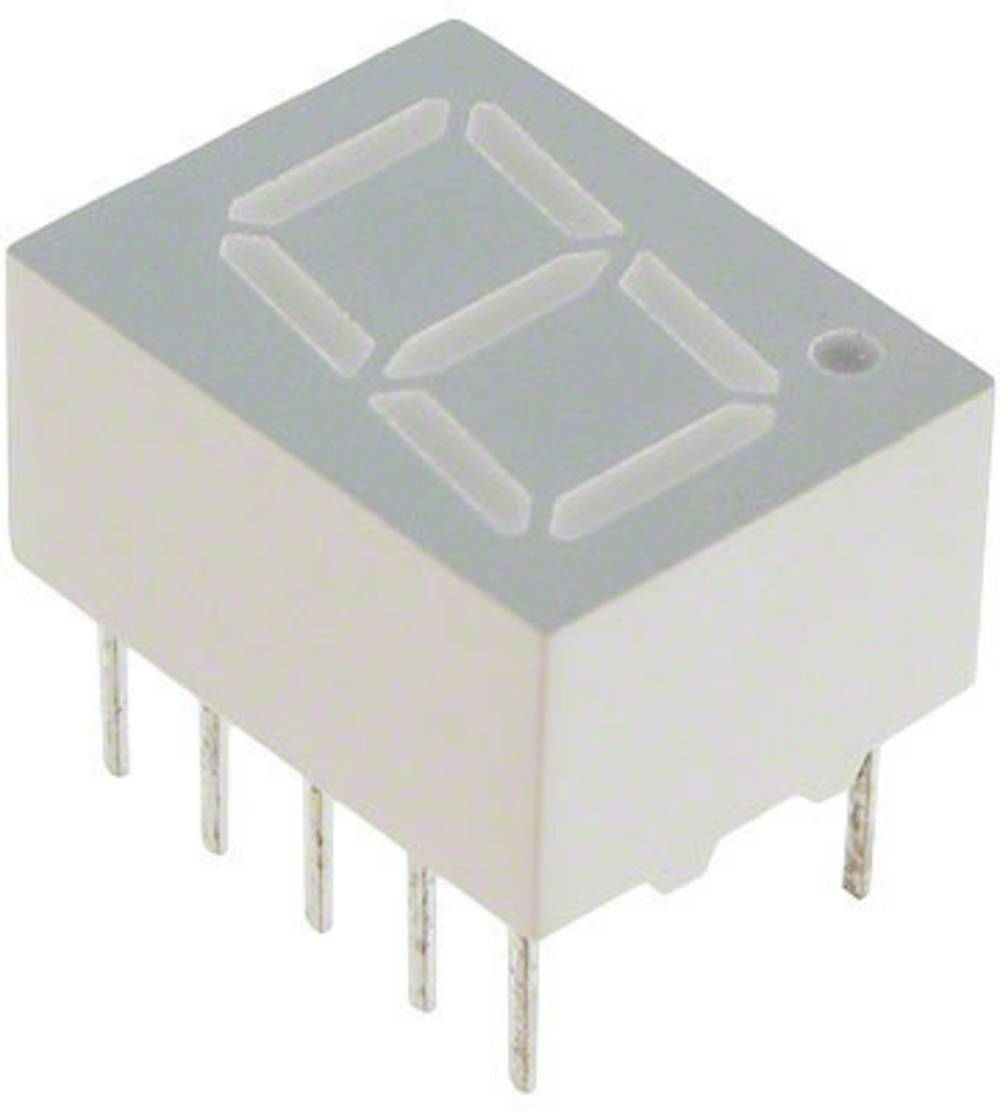 7-segmentsvisning Broadcom 10.16 mm 2.05 V Rød
