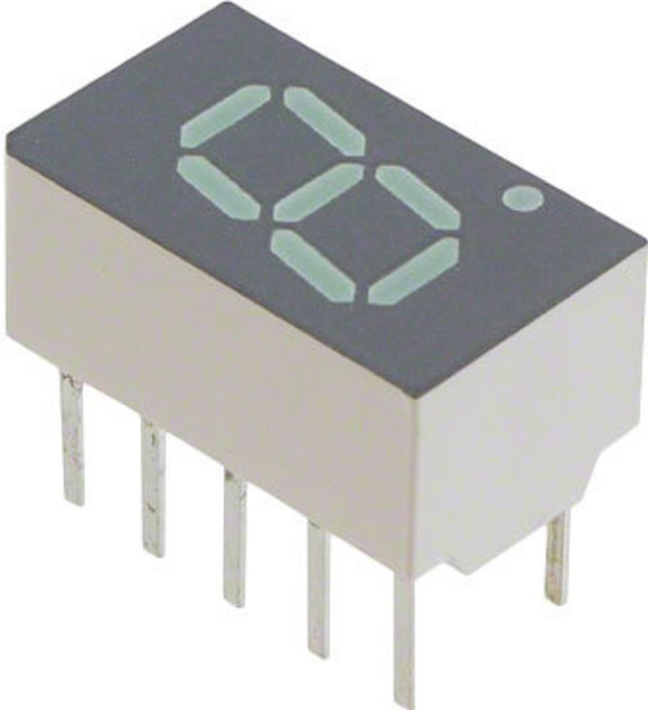 7-segmentsvisning Broadcom 7.62 mm 2.1 V Grøn