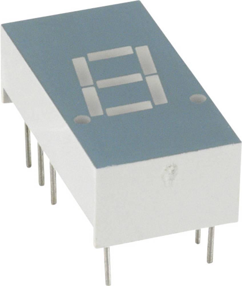 7-segmentsvisning LUMEX 7.8 mm 1.7 V Grøn