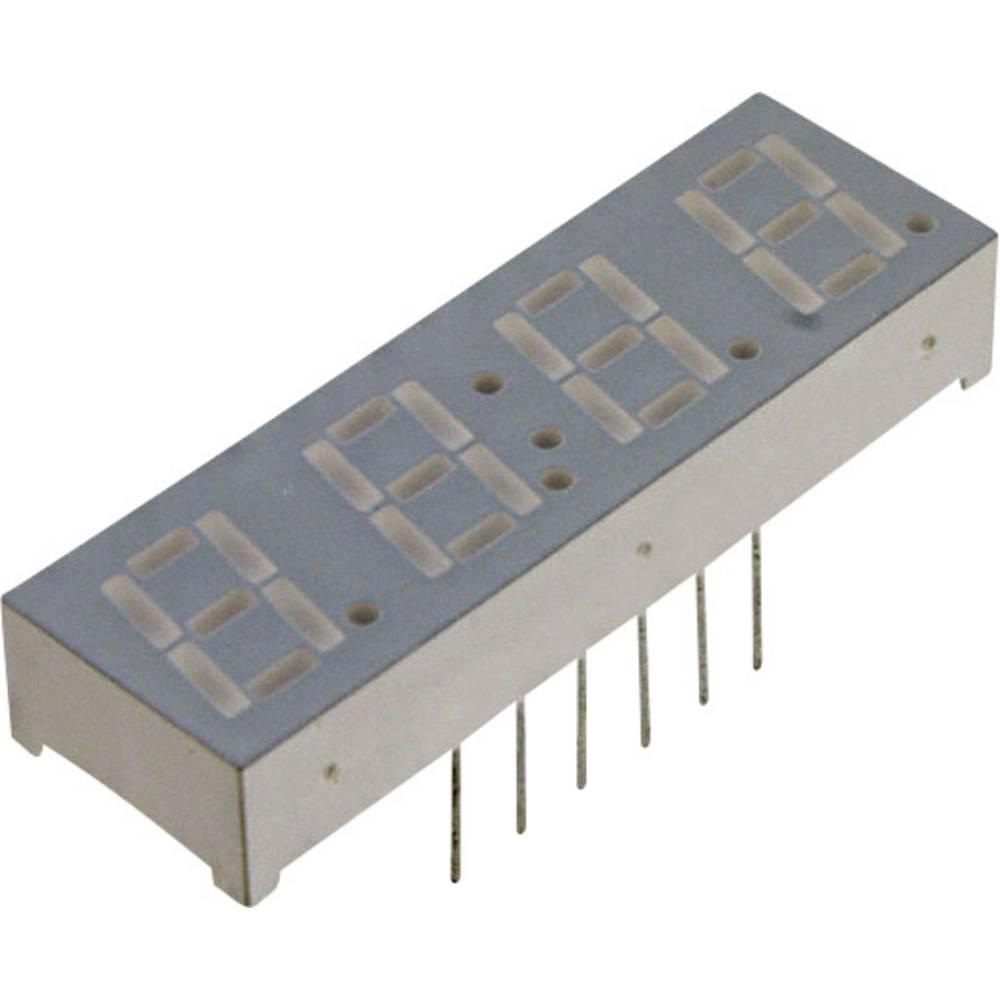 7-segmentsvisning LUMEX 14.22 mm 2 V Rød