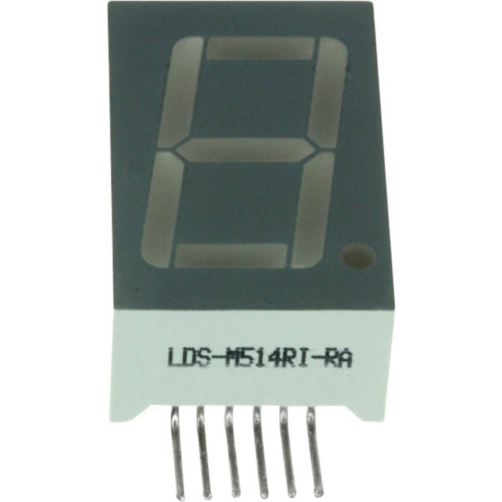7-segmentsvisning LUMEX 14.2 mm 2 V Rød