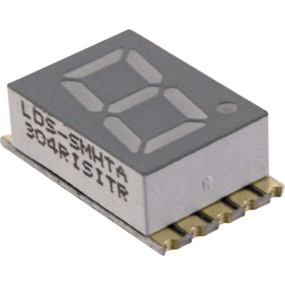 7-segmentsvisning LUMEX LDS-SMHTA304RISITR 7.62 mm 1.95 V Rød
