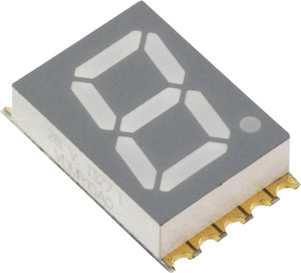 7-segmentsvisning Vishay VDMR10A0 10 mm 2 V Rød