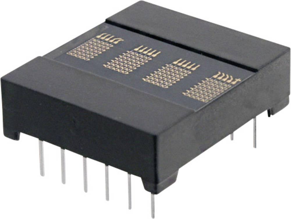 Punkt-matrix-display OSRAM 3.66 mm Rød