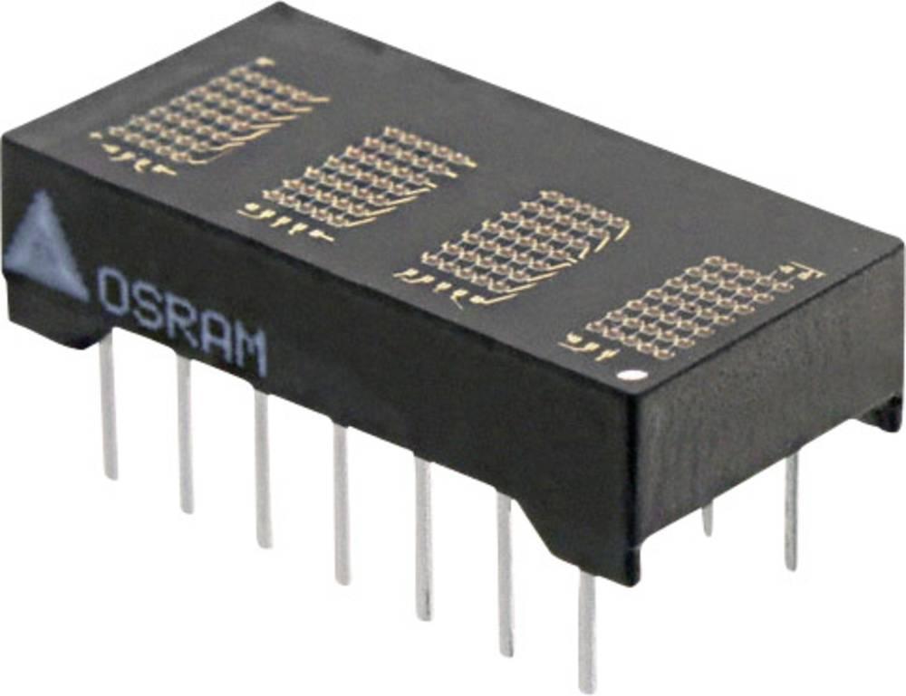 Punkt-matrix-display OSRAM 4.72 mm Gul