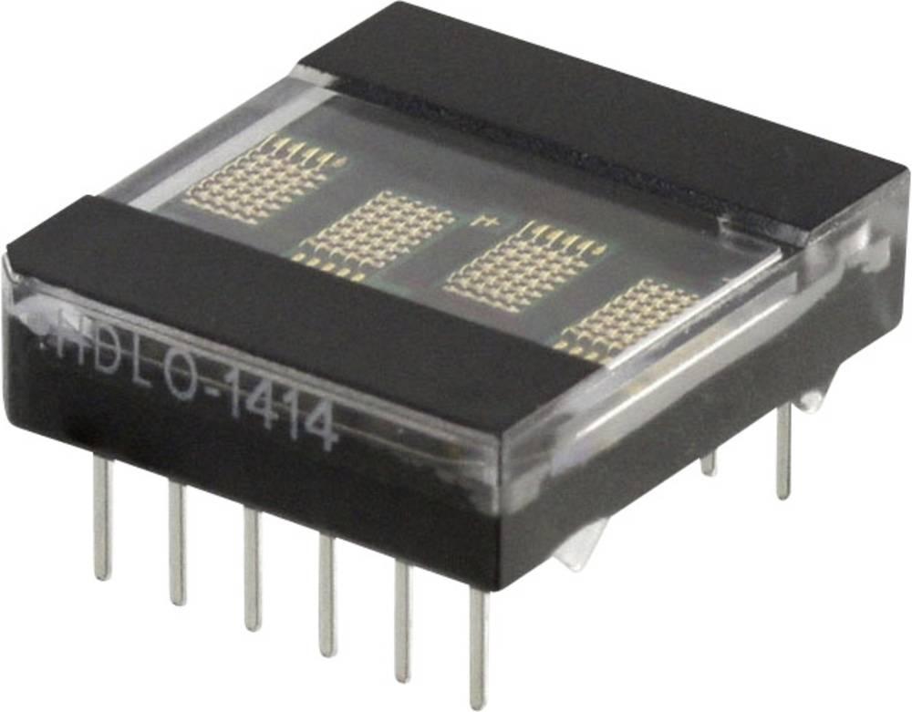 Punkt-matrix-display Broadcom 3.61 mm Rød