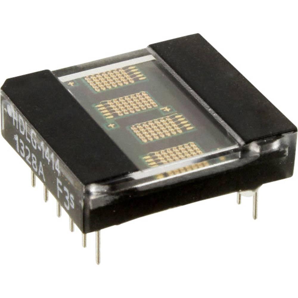 Punkt-matrix-display Broadcom 3.61 mm Grøn