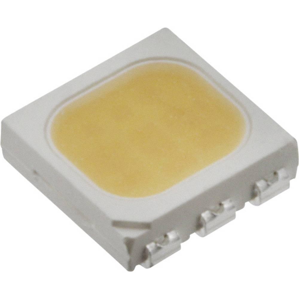 SMD LED Everlight Opto 61-238/QK2C-B45562FAGB2/ET PLCC6 5500 mcd 120 ° Kølig hvid