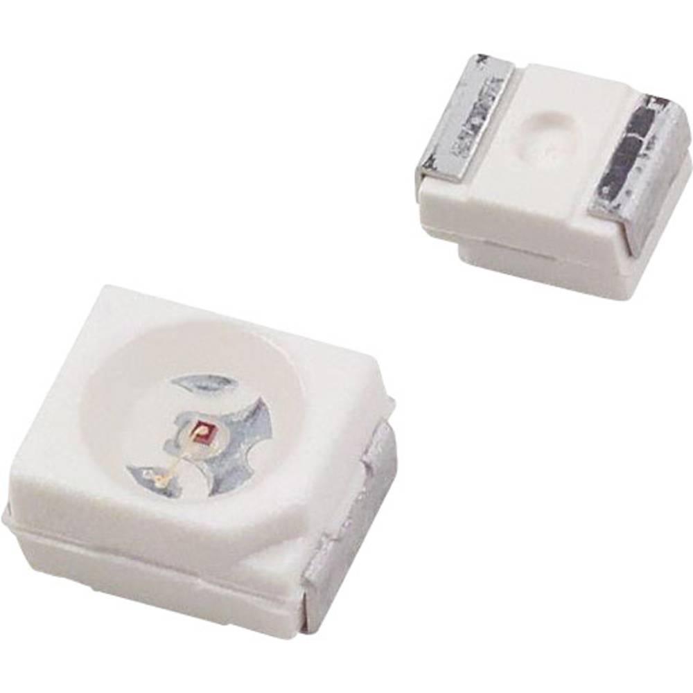 SMD LED Dialight 597-3601-207F PLCC2 11.15 mcd 120 ° Blå