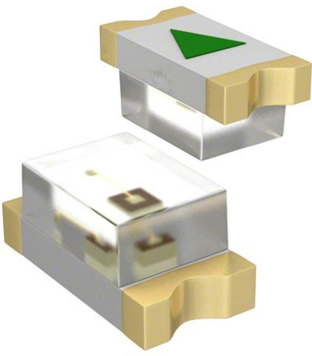 SMD LED Dialight 598-8070-107F 1608 20 mcd 140 ° Grøn