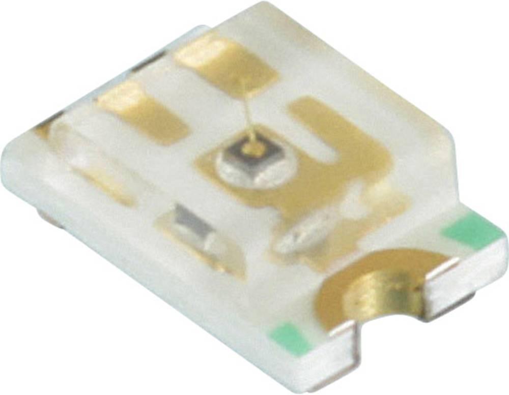 SMD LED Dialight 598-8140-107F 2012 130 mcd 140 ° Gul