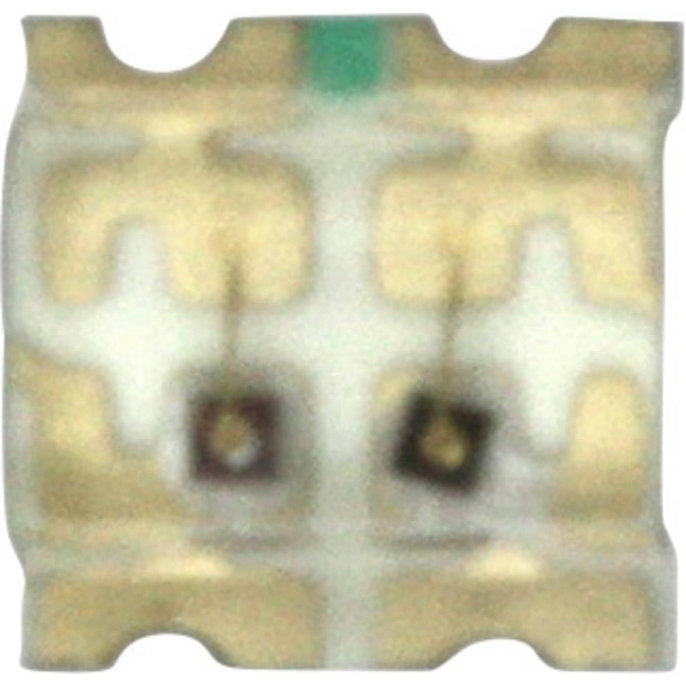 SMD LED Dialight 598-8440-207CF 1616 50 mcd, 135 mcd 140 ° Grøn, Gul