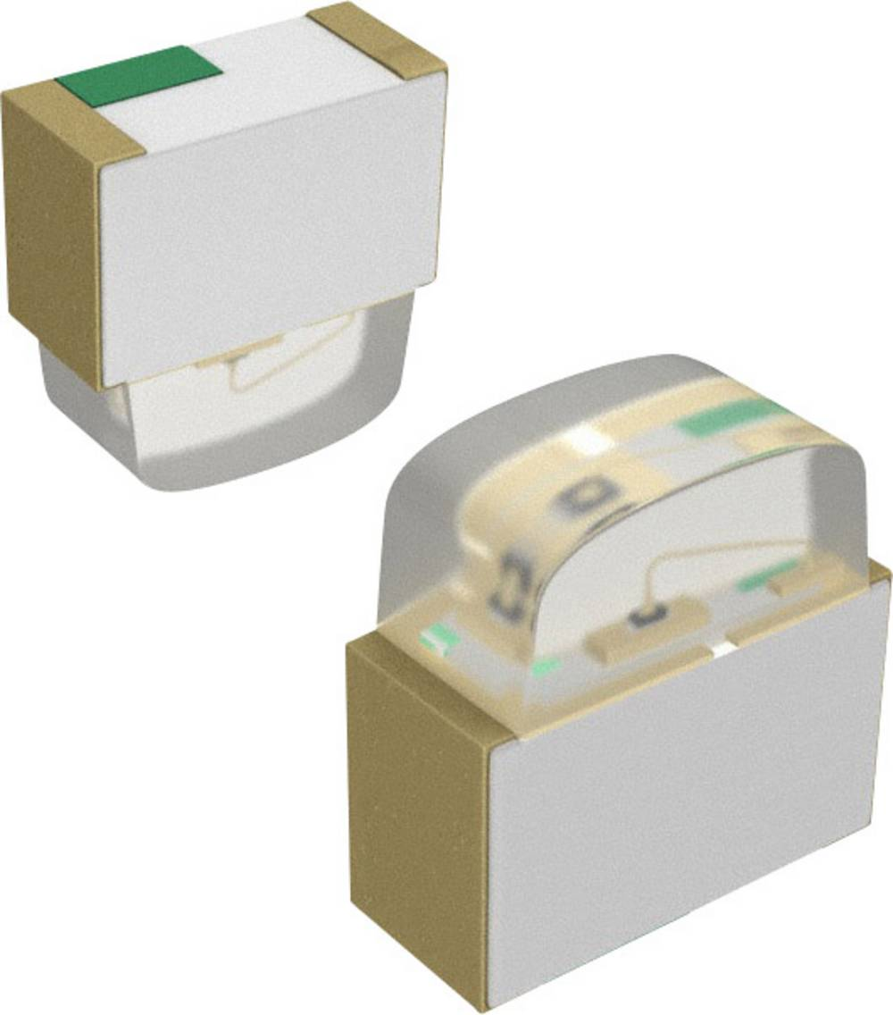 SMD LED Dialight 597-2403-507F 0605 63 mcd 135 ° Gul