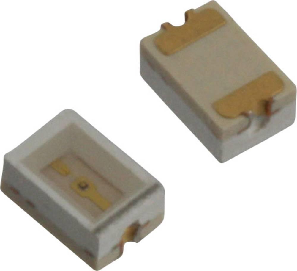 SMD LED Dialight 597-3002-507F 3020 63 mcd 110 ° Rød