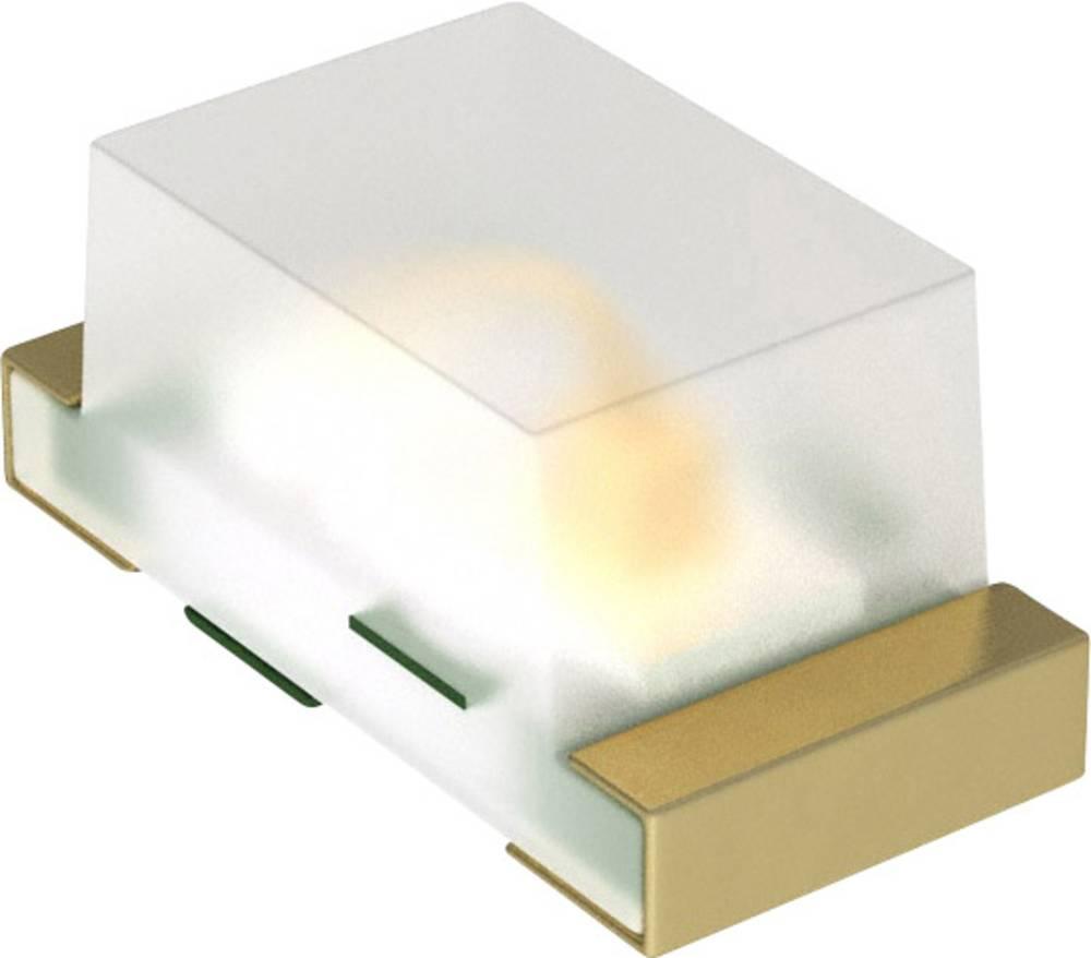 SMD LED Dialight 597-5112-407F 1608 11.7 mcd 152 ° Rød