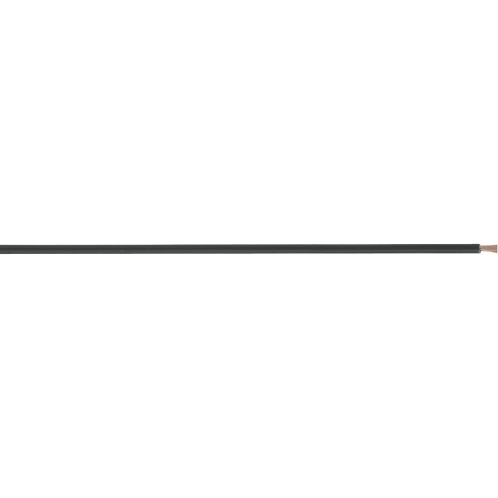 Merilni vodnik LiFY 1 x 1 mm črne barve LappKabel 4560023S meterski