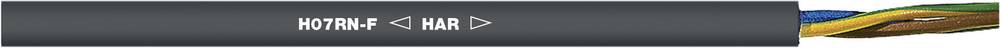 Priključni kabel H07RN-F 2 x 6 mm črne barve Lappkabel 1600095/500 500 m
