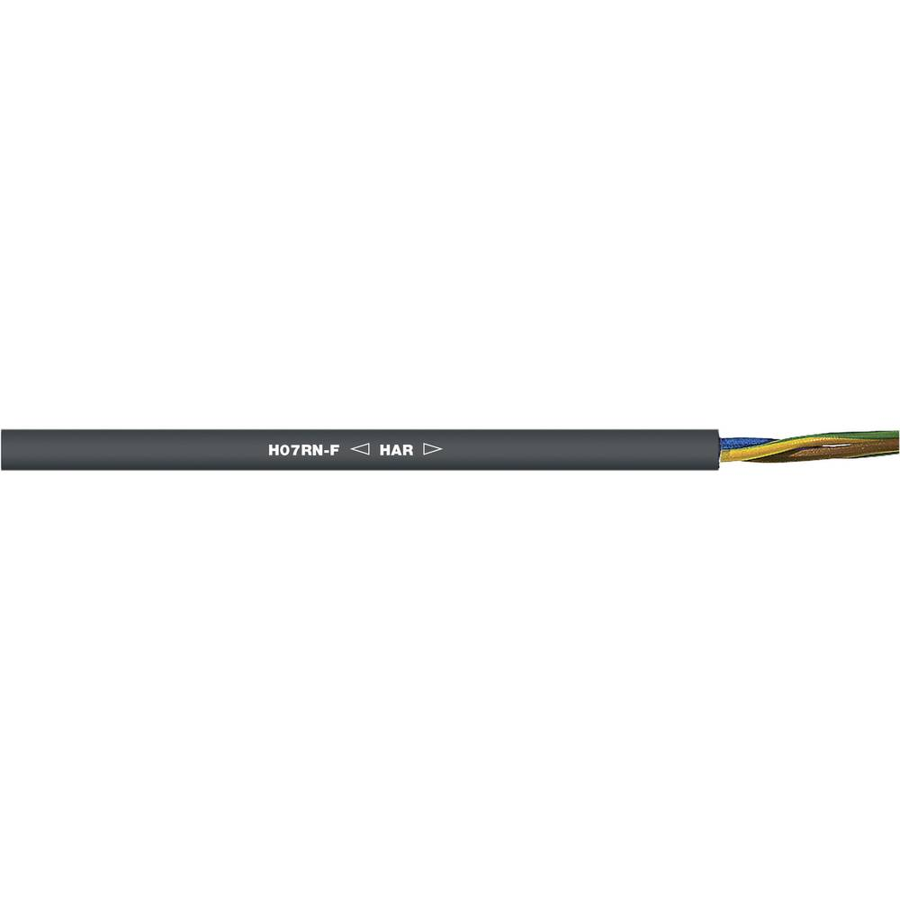 Priključni vodič H07RN-F 2 x 2.50 mm crne boje LappKabel 1600187 roba na metre