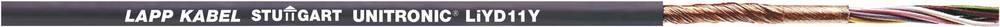 Podatkovni kabel UNITRONIC® LiYD11Y 12 x 0.14 mm črne barve LappKabel 0033212 100 m